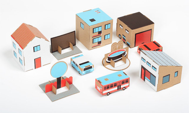 Modern Kids Toys And Games by Papierowe Miasto