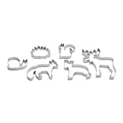 Monika Mulder - Drömmar Pastry Cutter Set - I have these cookie cutters, and people flip out over the results every time I use them. This isn't your usual snowman and Christmas tree set.