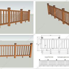 Modern Home Fencing And Gates by Oulida International Co.,Limited