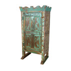 Crown Top Armoire
