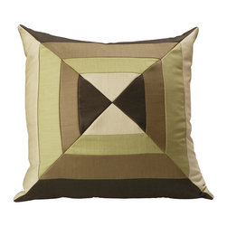 Consinged Holland & Sherry Green Bow Tie Pillow - From Holland & Sherry Bespoke comes the elegant but with a modern twist Green Bow Tie Pillow. Display in your living room or bedroom for instant flare. Insert included.