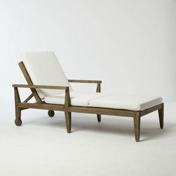 Jardine Single Lounger - Ahh, this lounge chair is the perfect place to read a book or just unwind from a long day at work.
