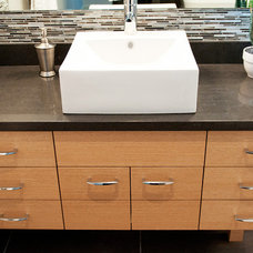 Contemporary Kitchen Cabinetry by Hi-Design Custom Cabinetry