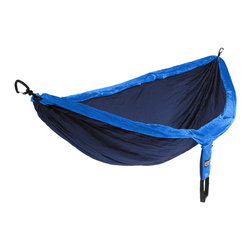 DoubleNest Hammock - This hammock doubles as a tree nest. It's perfect for those hikes that you just don't want to end.