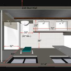 Transitional Rendering by Steven Corley Randel, Architect