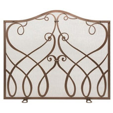 Traditional Fireplace Screens by Lamps Plus