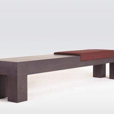 Contemporary Indoor Benches by Tomas Frenes Design Studio