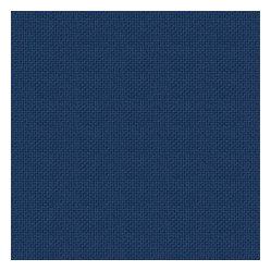 Blue Solid Basketweave Indoor Outdoor Fabric Crisp