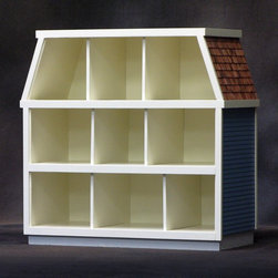 Real Good Toys - Real Good Toys 1/2 in. Miniatures Showcase Kit - 9 Room - H-MS900 - Shop for Dollhouses and Dollhouse Furnishings from Hayneedle.com! Additional features: Sturdy .25-inch-thick MDF with grooved construction 3/8-inch thick solid White Pine frames Room dividers do not have to be permanently placed 1/8-inch valance below each floor offers indirect lighting opportunity Notched floors and electrification slots for easy wiring Smooth rectangular wooden shingles are included for roof Designed specifically for use with ExtraBrite LED interior lighting 5-inch floor-to-ceiling height on first 2 floors 5.5-inch floor-to-ceiling height in attic About Real Good ToysBased in Barre Vt. Real Good Toys has been handcrafting miniature homes since 1973. By designing and engineering the world's best and easiest to assemble miniature homes Real Good Toys makes dreams come true. Their commitment to exceptional detail the highest level of quality and ease of assembly make them one of the most recommended names in dollhouses. Real Good dollhouses make priceless gifts to pass on to your children and your children's children for years to come.
