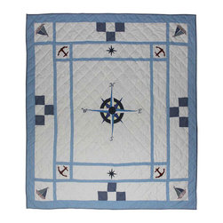 Patch Quilts - Patch Magic Star Of The Sea Quilt King 105 x 95-Inch Bedding Accessories - - Intricately appliqued and beautifully hand quilted.Bedding ensemble from Patch Magic The Name for the finest quality quilts and accessories. Machine washable. Line or Flat dry only  - Finish/Color: Multiple Color  - Product Depth: 105  - Product Width: 105  - Product Height: 95  - Material: 100% Cotton Fabric Patch Quilts - QKSTSE