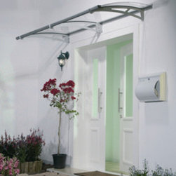 Poly-Tex, Inc. - Aquila 2050 Door Awning, Clear - Features: