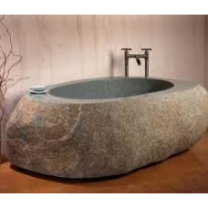 Rustic Bath And Spa Accessories by CAFFREY CONTRACTING