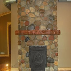 Mediterranean Fireplaces by Sturgis Material Inc