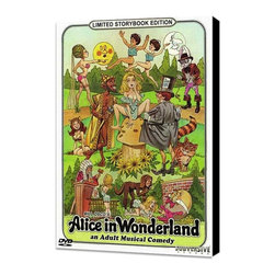 Alice in Wonderland: An X-Rated Musical Fantasy 11 x 17 Movie Poster - Style A - Alice in Wonderland: An X-Rated Musical Fantasy 11 x 17 Movie Poster - Style A - Museum Wrapped Canvas. Amazing movie poster, comes ready to hang, stretched on canvas museum wrap canvas with color sides. Cast: