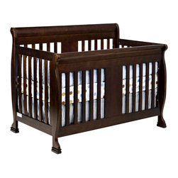 Da Vinci - DaVinci Porter 4-in-1 convertible Crib in Espresso Including Toddler Rails - Da Vinci - Cribs - M8501Q - Crafted as meticulously as all DaVinci products are the Porter Crib will keep your baby safe in his slumber.  With easy conversions the crib turns into a toddler bed daybed and full size bed when your baby is ready.  Its sturdiness and classic lines are beautiful and will add class to your baby's nursery.