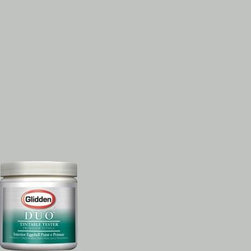 Glidden Duo Martha Stewart Living Nimbus Cloud Interior Paint - If you want a clean contemporary color for the walls, Martha Stewart's Nimbus Cloud from Home Depot is absolutely perfect.