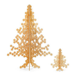 Superstar Holiday Tree - Stars are one of my favorite motifs of the season, so why not have an entire tree made of them?