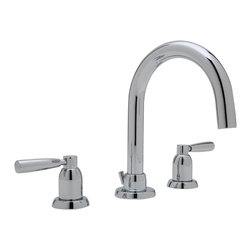 ROHL Perrin & Rowe® Transitional 3-Hole Tubular Widespread Lavatory Faucet - ROHL