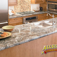 contemporary kitchen countertops by ALLSTAR Countertops