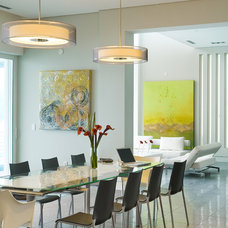 Modern Dining Room by Halflants + Pichette