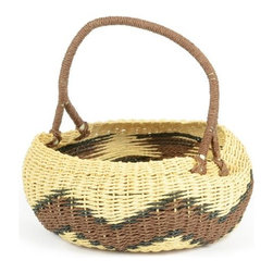 Go Home Ltd - Go Home Ltd Seneca Decorative Basket X-45071 - Pack of 2.