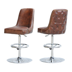 Four Hands Hipster Swivel Barstool Doesn T Your Room