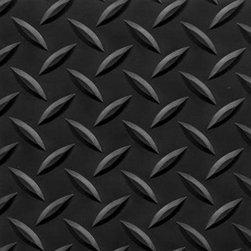"buyMATS Inc. - 2' x 3' Supreme Diamond Foot 11/16"" Solid Color/Black - Features:"