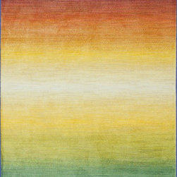 Loloi Rugs - Loloi Rugs Lyon Rainbow Abstract Contemporary / Modern Rug X-5A7700NR40ZLHNOYL - If you enjoy admiring artwork on the wall, you may want to consider the Lyon Collection as painterly masterpiece for your floor. From Egypt, these contemporary rugs have been inspired by Western European and South American watercolor paintings. And because they're power loomed of 100% polypropylene, a durable and stain resistant fiber, the colors will remain vibrant for years ahead.