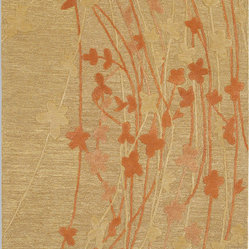 Karastan Artworks 74200-00222 Wildflowers Rug