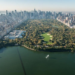 Murals Your Way - Central Park by Helicopter Wall Art - Photographed by Richard Silver, Central Park by Helicopter wall mural from Murals Your Way will add a distinctive touch to any room