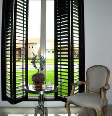 modern window blinds by Wood Shutters For Sale