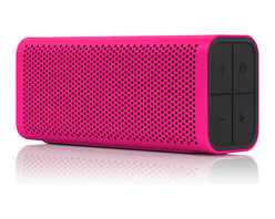 Braven - Braven 705, Design Series, Magenta - Lightweight portability meets big sound with the powerful Braven 705 Speaker. Custom high-fidelity audio drivers deliver room-filling sound to your music, media, conference calls and more. For a powerful, immersive left and right stereo experience, pair any two Braven 7-Series speakers together using Braven's highly-acclaimed TrueWireless™ Technology. Precision engineered with a shock-absorbent thermoplastic exterior and sleek finish, the Braven 705 Speaker is offered in a wide variety of colors to match your personal style.