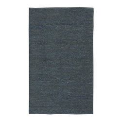 Surya - Continental COT1935 Hand Woven Jute Rug in Blue (5 ft. x 8 ft.) - Size: 5 ft. x 8 ft.. As comfortable and inviting as your favorite pair of denim jeans, this casual hand woven jute rug will be an appealing addition to your home's decor. Finished in blue, the rug is made in India and is available in a wide range of different size and shape options. Hand Woven. Made In India. Made from 100% Natural Jute