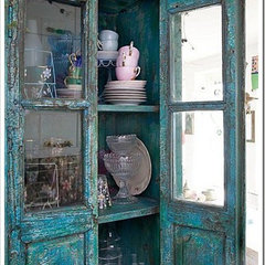 eclectic  shabby spaces