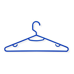 Honey Can Do - 60 Pack Recycled Plastic Hangers- Blue - 60 Pack. 11.81 x 5.31 in.