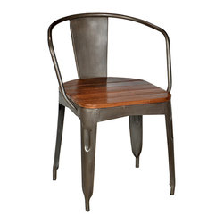 shop industrial dining chairs on houzz