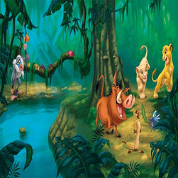 RoomMates - RoomMates Disney Lion King Chair Rail Mural Multicolor - JL1253M - Shop for Murals from Hayneedle.com! About Roommates: Roommates a subsidiary of York Wallcoverings Inc creates some of the most versatile and unique wall decor you'll find. Their innovative wall decals feature a removable and endlessly reusable design allowing you to move and rearrange your decals as often as you like all without causing any damage to your walls or furnishings. This means you can apply them without worry or headache since you don't have to get the application perfect the first time. RoomMates work on any smooth surface and are particularly ideal for temporary decorating such as around the holidays. All RoomMates products are proudly made in the USA and are made from non-toxic materials so they're as safe for your kids and pets as they are for your walls.Please note this product does not ship to Pennsylvania.