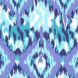 Ikat in Blue - There must be something about blue Ikat patterns these days; I'm seeing so many fantastic blue patterns out there. I don't really have any blue in my house, but I think I should start adding pieces here and there. This would be the perfect pop of color for a handmade booster seat.