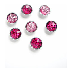 """Pretty Little Things - Pink Lady Magnets Set of 7 - Even Frenchy would blush over these perfect """"Pink Lady"""" Magnets!"""