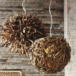Driftwood Hanging Light - Driftwood Hanging Light