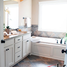 Eclectic Bathroom Vanities And Sink Consoles by Consolidated Kitchens & Fireplaces