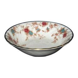 Minton - Minton Ancestral Fruit Bowl - Minton Ancestral Fruit Bowl