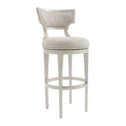 Stanley Furniture - Bar Stool - The simple lines of the Bar Stool blend relaxed comfort with contemporary style.