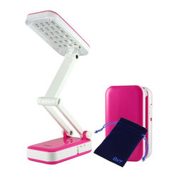 Bao Xin New Design LED Folding Desk Lamp for Bedroom Work Reading Computer,Build - Build-in 800mAh capacity grade A li-ion battery,available for more than 500 times recycle.24 LEDs offer low watt but bright lighting