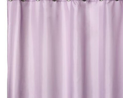 Splash Home - Hotel Lavender Fabric Shower Curtain Liner - Fabric shower curtain liners can also be used as a stand-alone shower curtain. Stylishly designed and tailored, shower curtain liner is mildew-resistant.