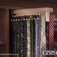 Traditional Closet Organizers by Saint Louis Closet Company