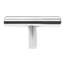 """LessCare - LessCare Solid Stainless Steel Pulls for Kitchen or Vanity Cabinets, 2"""" - Solid Stainless Steel Handles and Knobs LDH by LessCare"""
