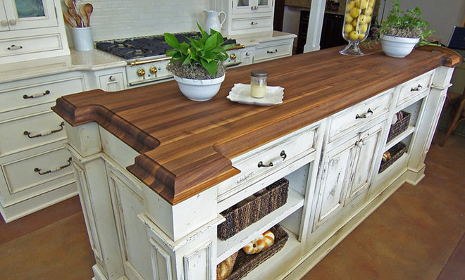 Traditional Kitchen Countertops by The Grothouse Lumber Company