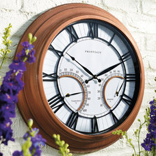 Traditional Outdoor Clocks by FRONTGATE
