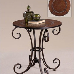 Uttermost - Lyra Accent Table - 26111 - Accent table